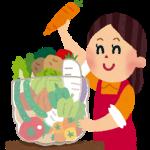 TSK1131☆野菜果物のパック詰め☆土日祝休み☆10代~50代男女活躍中